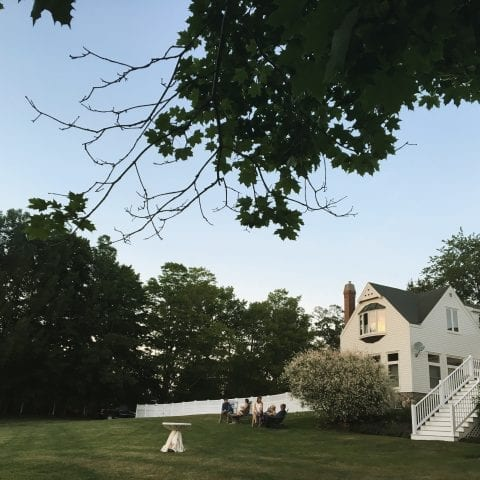 landscape view of lawn and barn | types of wedding venues