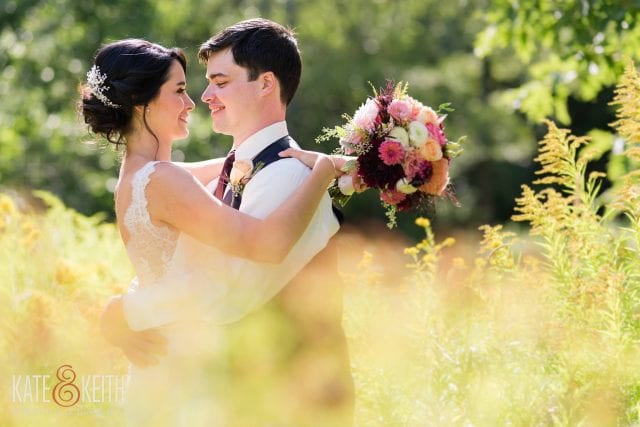 Kate & Keith Photography | Rustic Wedding Venue | Maine Wedding Receptions