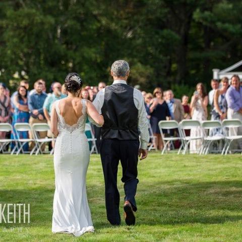 Kate & Keith Photography | Rustic Wedding Venue | Maine Wedding Receptions