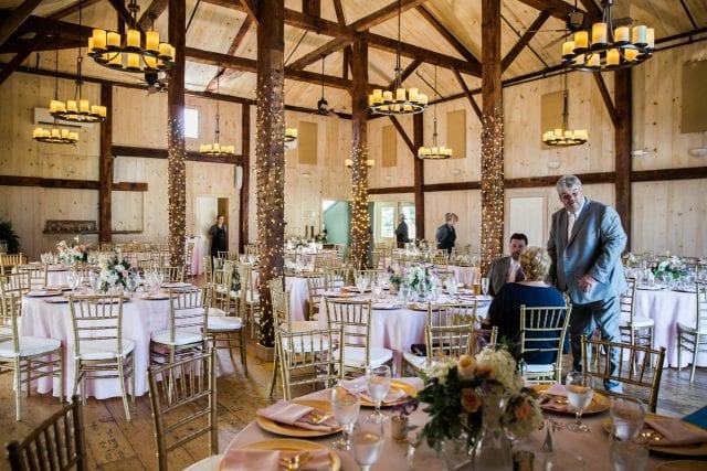 decorated barn | private event venue